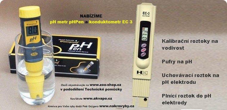 Měření pH a vodivosti